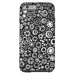 210712 - Blanco y negro Funda De iPhone 6 Tough