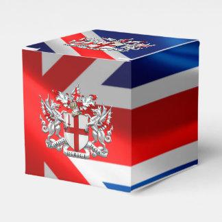[210] Ciudad de Londres - escudo de armas Caja Para Regalo De Boda