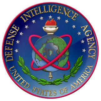 210 Defense Intelligence Agency DIA Seal Porcelain Plate