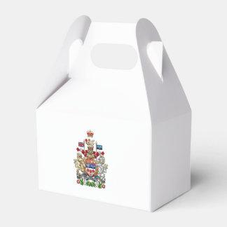 [210] Escudo de armas de Canadá [3D] Cajas Para Regalos De Fiestas
