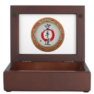 [210] Japanese calligraphy - Karate-do Memory Boxes