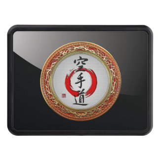 [210] Japanese calligraphy - Karate-do Trailer Hitch Covers