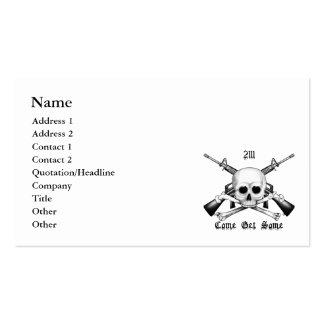 2111 que viene el armero consiguen algunas tarjeta tarjetas de visita
