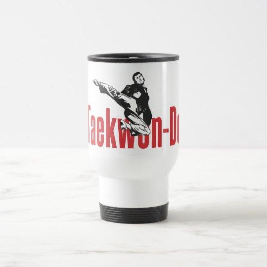 211 - Jump Side Kick Taekwon-Do Mug