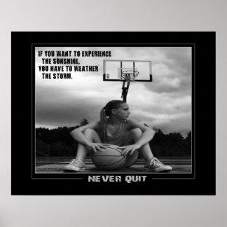 #211 (Matte) Basketball Poster