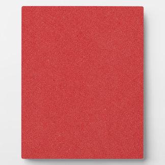 211 ORANGe RED SOLID BACKGROUND COLOR WALLPAPER TE Plaque