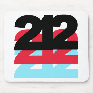 212 Area Code Mouse Pad