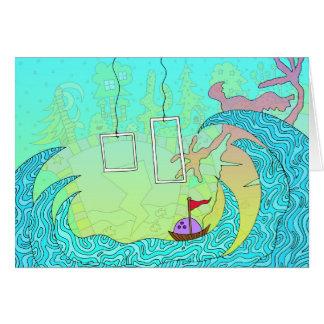 #212: Bowling Through Waves Card