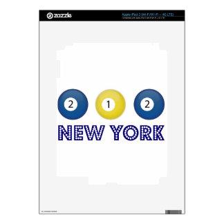 212 Nueva York Pegatinas Skins Para iPad 3