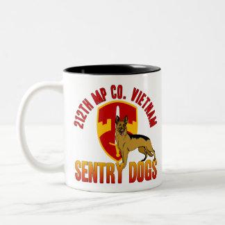 212th MP Co. - Vietnam Two-Tone Coffee Mug
