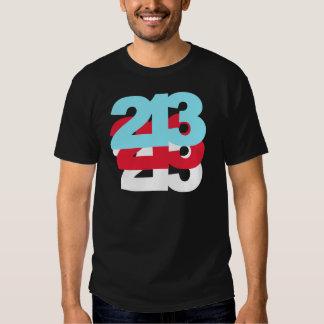 213 Area Code T Shirt
