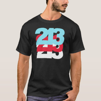 213 Area Code T-Shirt