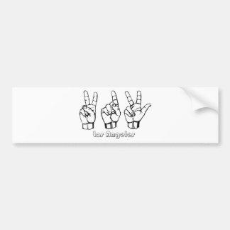 213 -- Los-Angeles Bumper Sticker