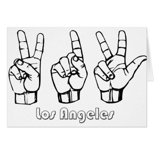 213 -- Los-Angeles Card