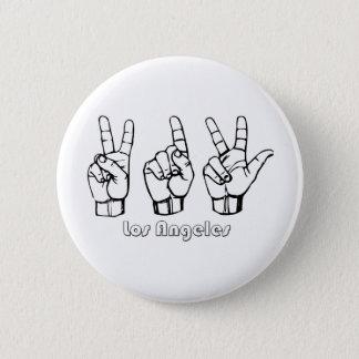 213 -- Los-Angeles Pinback Button