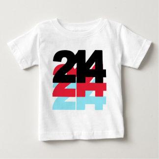214 Area Code Baby T-Shirt