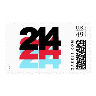 214 Area Code Postage