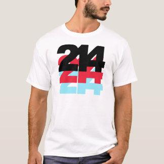 214 Area Code T-Shirt