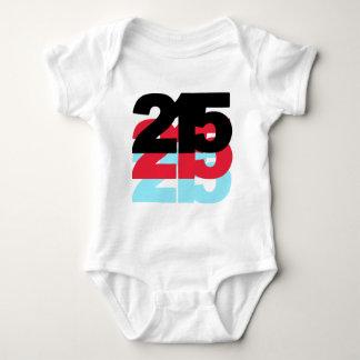 215 Area Code Baby Bodysuit