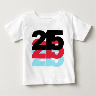 215 Area Code Baby T-Shirt