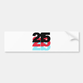 215 Area Code Bumper Sticker