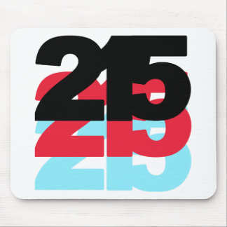 215 Area Code Mouse Pads