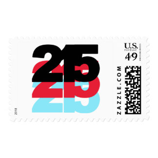 215 Area Code Postage Stamps