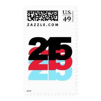 215 Area Code Postage