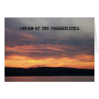 215, Dream of the possibilities Card