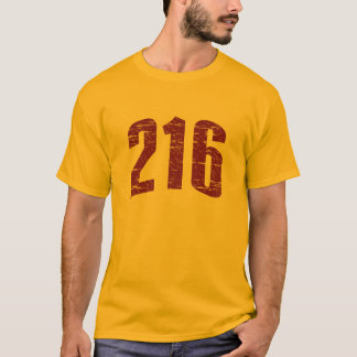 216 (Area Code) T-shirt