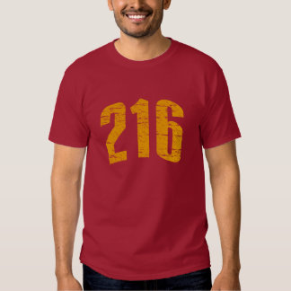 216 (Area Code) T-shirt