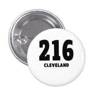 216 Cleveland 1 Inch Round Button