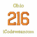 216 Cleveland Embroidered Hooded Sweatshirts
