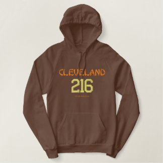 216 Cleveland Embroidered Hoodie