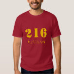 216 Wine and Gold Shirt
