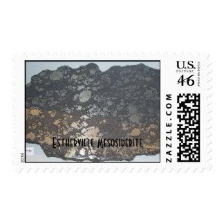216esthervillefm, Estherville Mesosiderite Postage Stamps