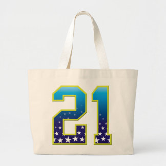 21 Age Star Tote Bags
