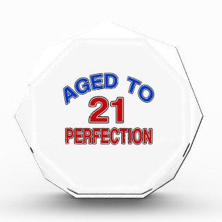 21 Aged To Perfection Acrylic Award