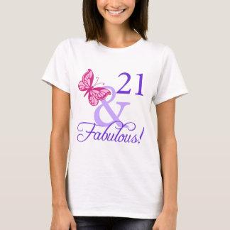 21 And Fabulous Birthday T-Shirt