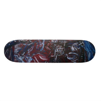 21 AND OVER SKATE DECK
