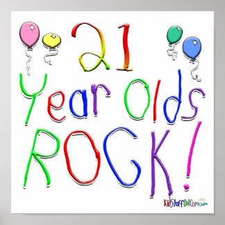 ¡21 años de la roca! póster
