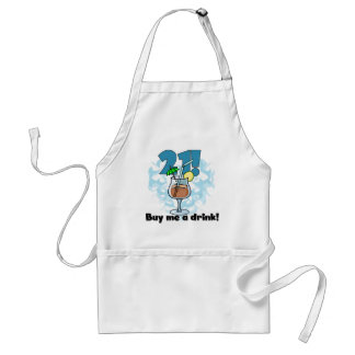 21 Buy Me a Drink T-shirts and Gifts Adult Apron