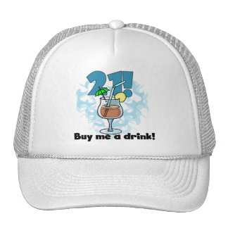 21 Buy Me a Drink T-shirts and Gifts Trucker Hat