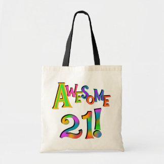 21 camisetas y regalos impresionantes del cumpleañ bolsas lienzo