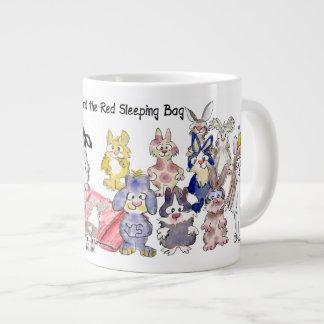 21 Cartoon Bunny Rabbits Sleeping Bag BunnyRoo Large Coffee Mug