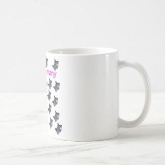 21 Cat Heads Old Classic White Coffee Mug