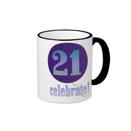 21 Celebrate Ringer Mug