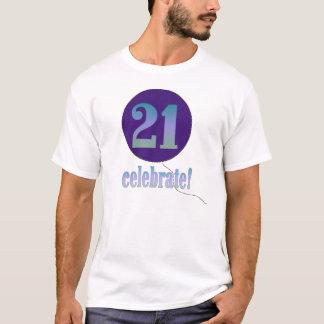 21 Celebrate T-Shirt