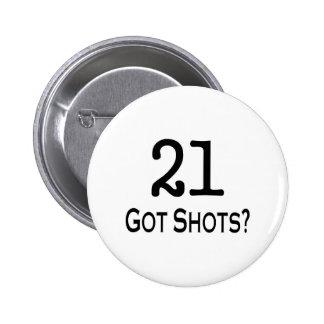 21 consiguió tiros pins