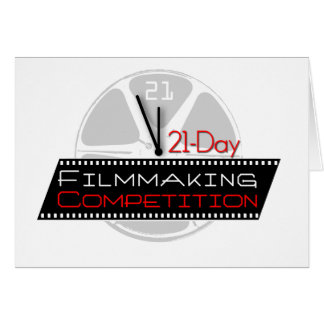 21-Day Filmmaking Competition Card